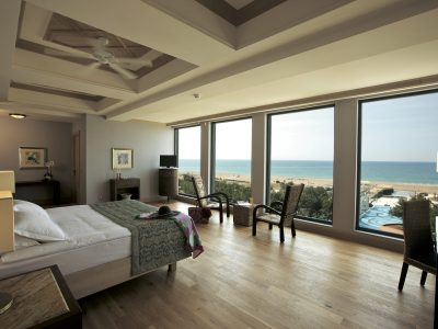 Lykia World Antalya King Suite Master Bedroom view 1